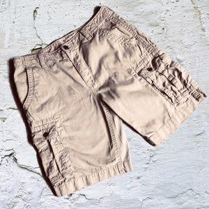 Arizona Jean Co. Khaki Cotton Cargo Shorts